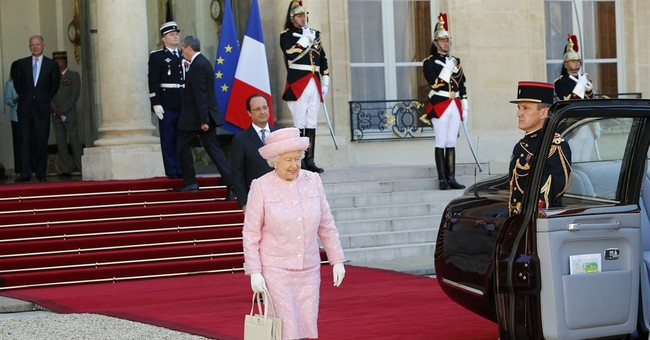 Queen Elizabeth in France for D-Day anniversary