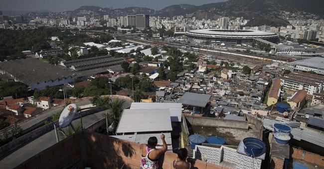 AP PHOTOS: Brazil stadium inspires slum dwellers