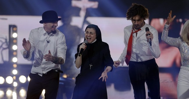 Italy's singing nun wins 'Voice' competition
