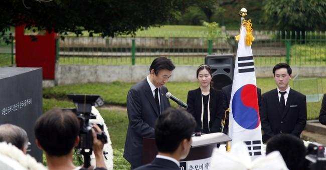 South Korea unveils memorial to '83 Myanmar attack