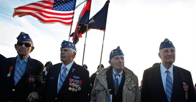 US D-Day vets honor fallen comrades