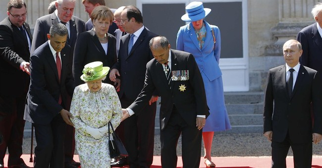 AP PHOTOS: D-Day remembrance in Normandy