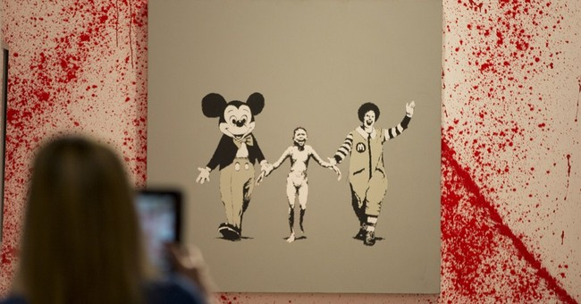 Sotheby's goes street with Banksy exhibition