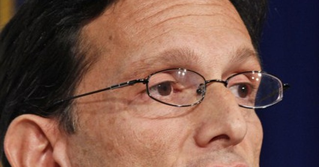 Tea partyer takes aim at Cantor in Va. primary