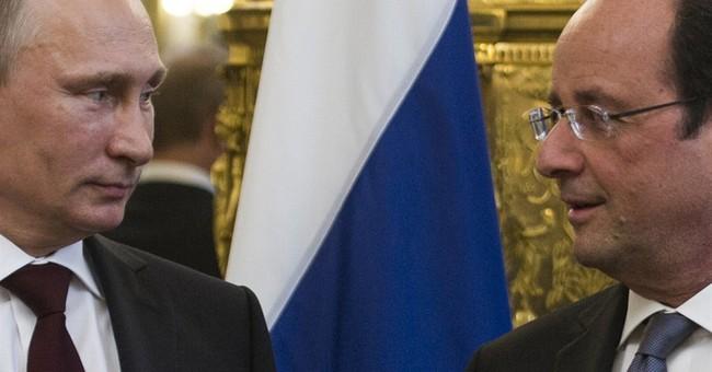 Russian, Ukrainian leaders may meet in Normandy