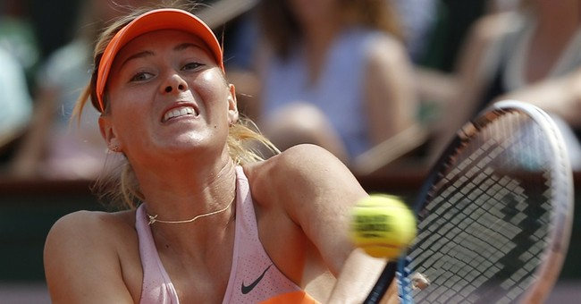 Sharapova edges Halep for 2nd French Open title