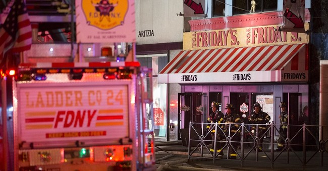 Restaurant near Rockefeller Center catches fire