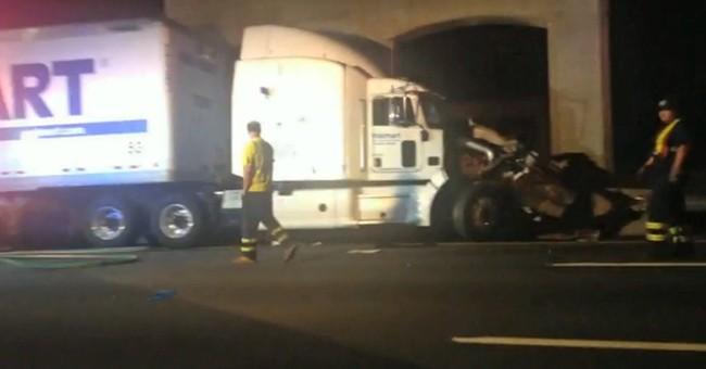 Authorities: Trucker in Morgan crash hadn't slept