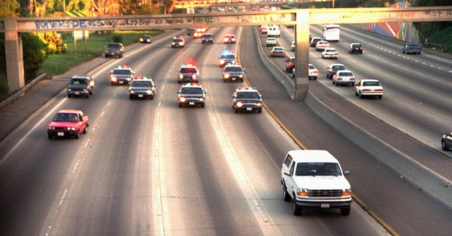 AP WAS THERE: OJ Simpson's slow-speed chase