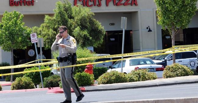 Timeline of shootings of Vegas officers, shopper