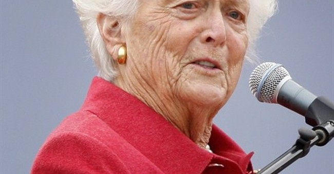 First lady Barbara Bush has low-key 89th birthday