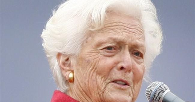 First lady Barbara Bush has low-key 89th birthday