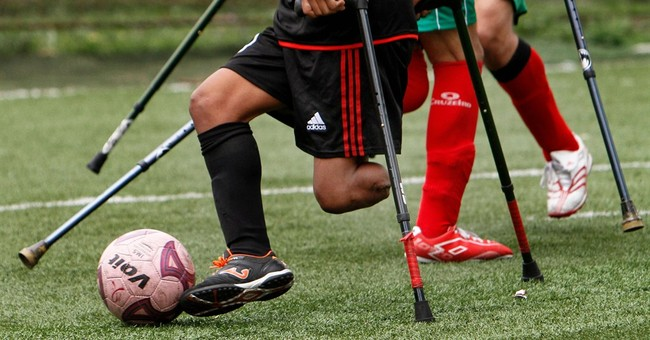 Mexico amputee soccer players train for own Cup