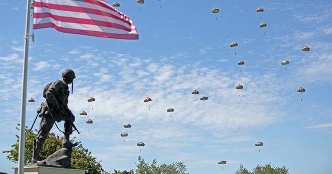 Aerial reenactment caps D-Day celebrations