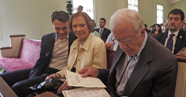 Ex-president's role limited in grandson's campaign