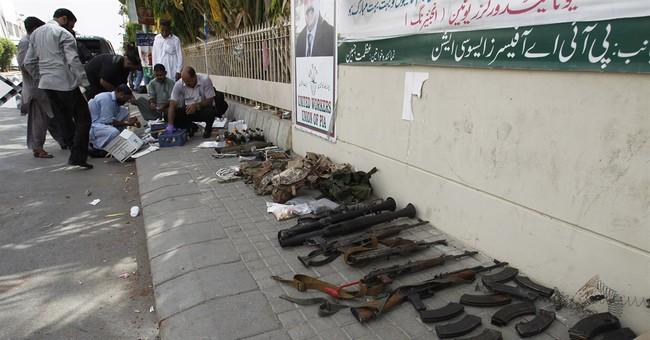 Pakistan forces repel attack near Karachi airport