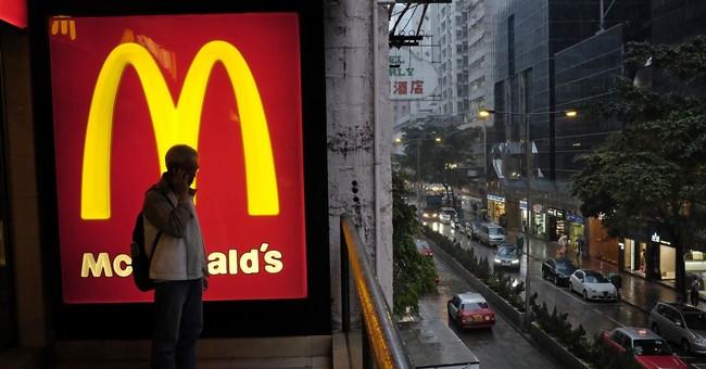McDonald's US sales slip again in May