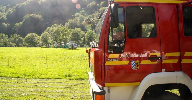 Rescuers work to save man deep in German cave