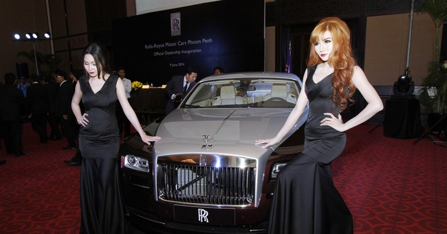 Rolls-Royce to sell luxury automobiles in Cambodia
