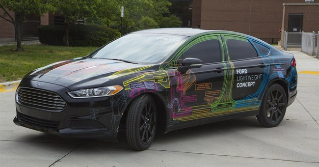 Auto industry gets serious about lighter materials