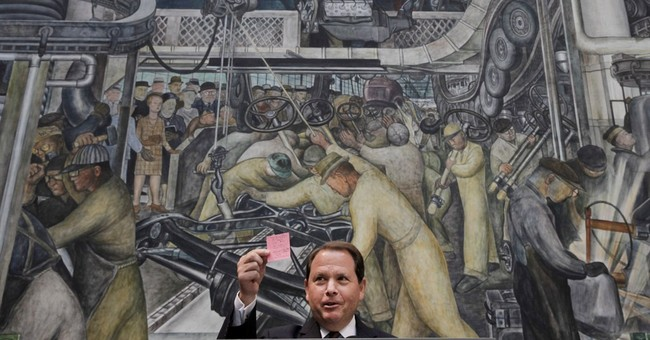 Automakers to help save Detroit's art treasures