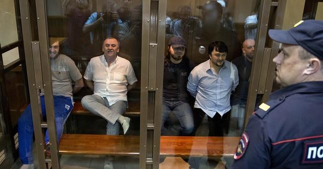 5 sentenced, 2 to life, in Politikovskaya killing