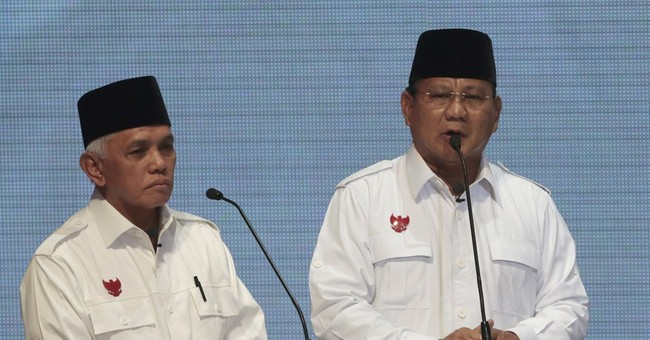 Indonesian presidential rivals clash in 1st debate