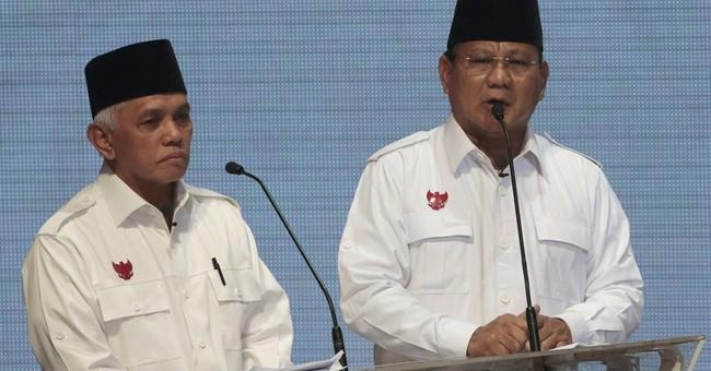 Indonesian presidential rivals clash in 1st debate