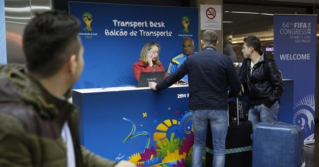World Cup fans face rough landing in Brazil