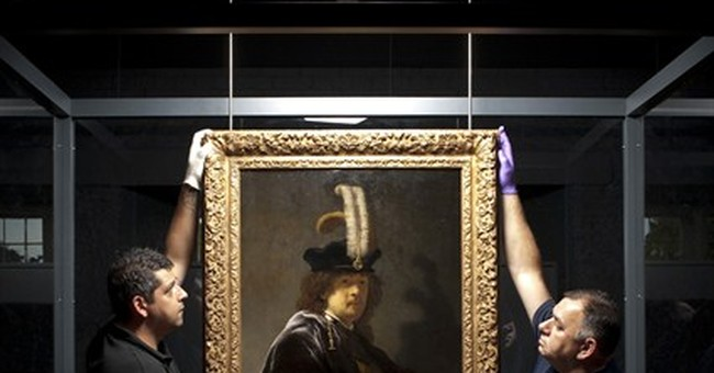 Tests confirm painting is Rembrandt self-portrait