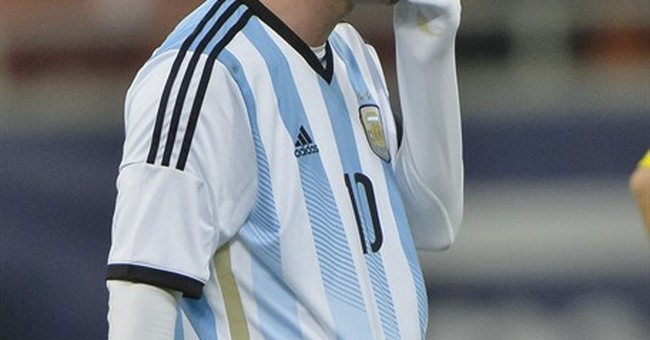 Messi's bouts of nausea puzzle world of football