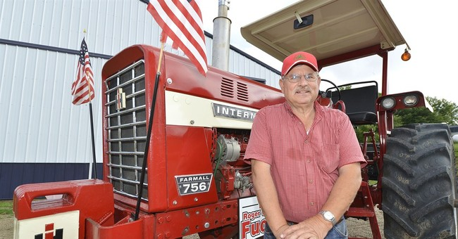 Drivers gathering for Great Nebraska Tractor Ride