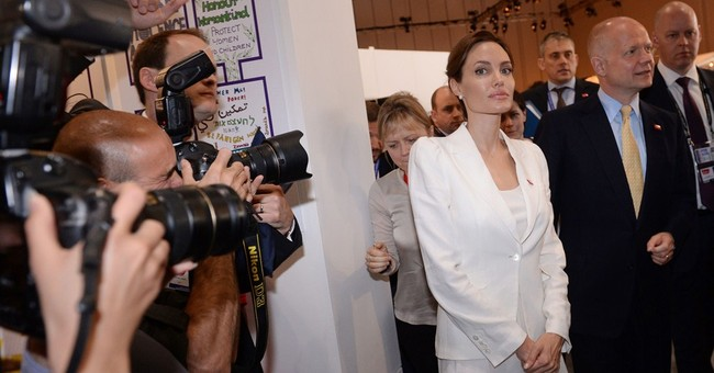 Jolie and UK's Hague host sexual violence summit
