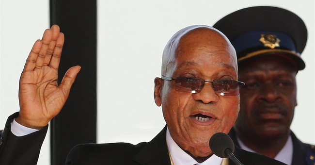 South African president at home after health tests