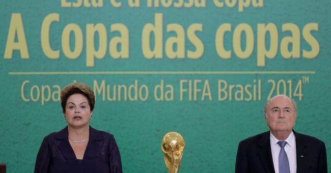 Brazil's president snubs FIFA gathering