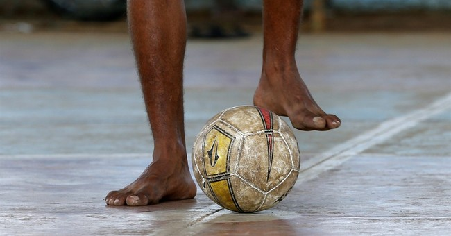 AP Photos: Soccer joy before heroes hit World Cup