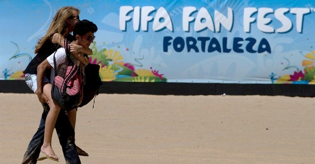 Valentine's in Brazil comes early because of WCup