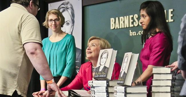 Clinton has reasons to run at her ready