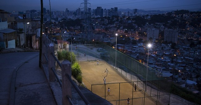 AP PHOTOS: Soccer fields are everywhere in Rio