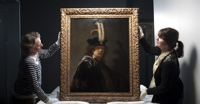 Tests confirm painting is Rembrandt self-portrait