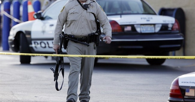 What should you do if confronted with a gunman?
