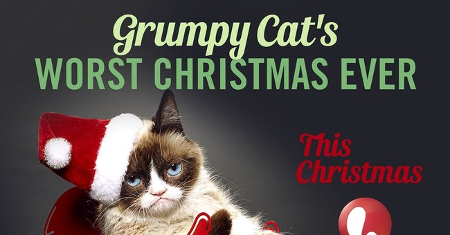 Look for Grumpy Cat on Lifetime at Christmas