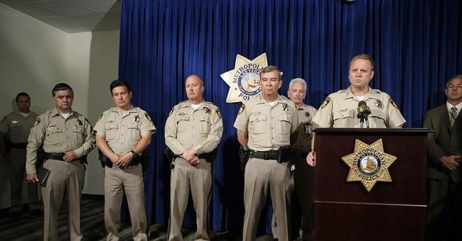 Cop killers had 3 earlier talks with Vegas police