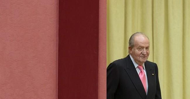 Spain's Parliament backs king's abdication