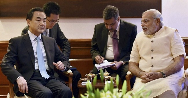 China cultivates India amid tension with neighbors