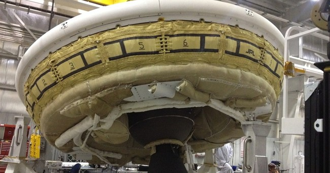 NASA postpones Mars 'flying saucer' test on Earth