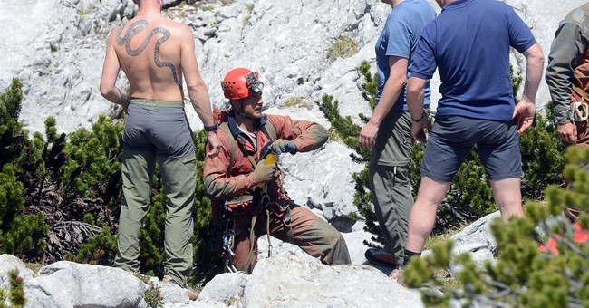 German cave explorer well enough for evacuation