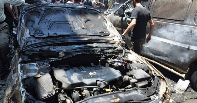 Car bomb kills at least 7 in central Syria