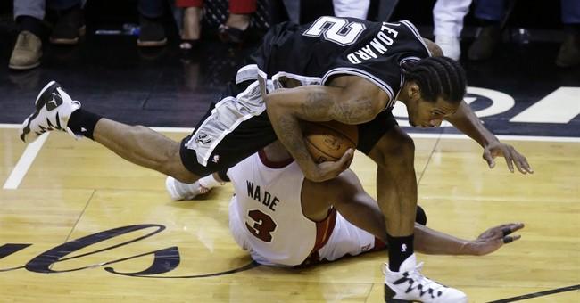 Spurs blitz Heat again, win Game 4 107-86