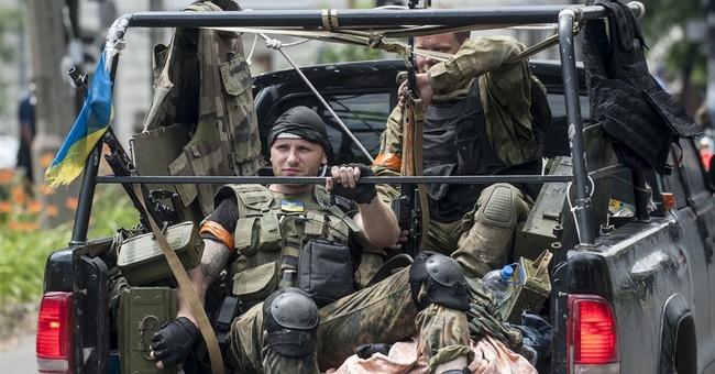 Ukrainian troops drive rebels out of Mariupol